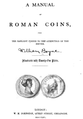 1865 - Boynes - A manual of Roman coins