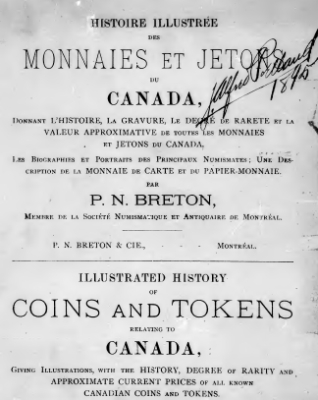 1895 Breton - Coins and Tokens of Canada