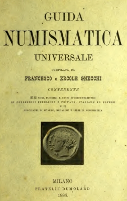 Gnecchi - 1886 - Universal numismatic reference (collections and collectors)