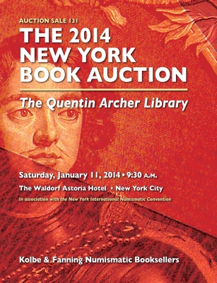 2014 Archer NY Sale - Russian Numismatic Books